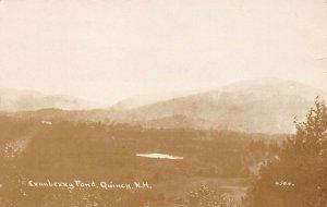 LPS57 Quincy New Hampshire Cranberry Pond Postcard RPPC