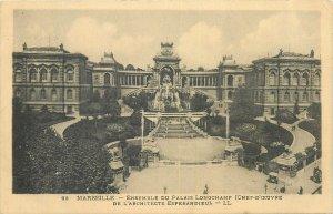 Postcard France Marseille Palais Longchamps