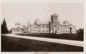 RP: TORONTO , Ontario , 1912 ; University