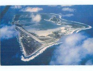 Pre-1980 AERIAL VIEW Wake Island AD0091