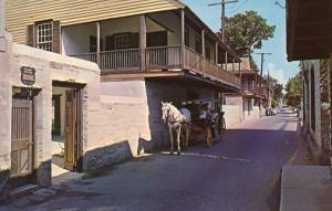FL - St. Augustine. St. George Street, Arrivas House