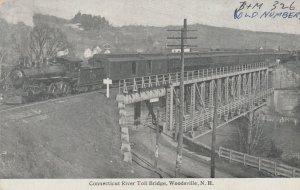 Connecticut River Toll Bridge , WOODSVILLE , N.H. , 00-10s ; Train above