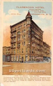 Clarendon Hotel Brooklyn NY 1917