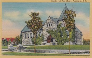 Prendergast Free Library , JAMESTOWN , New York , 30-40s