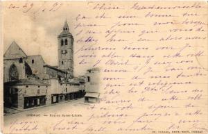 CPA Cognac - Église St-Léger (519091)