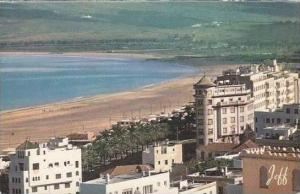 Morocco Tanger View of the beach