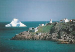 Iceberg off Fort Amherst at entrance to St. John's Harbour,  Newfoundland,  C...