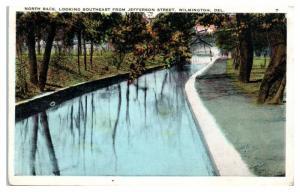 North Race, Wilmington, DE Postcard *4U