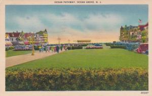New Jersey Ocean Grove Ocean Pathway 1944