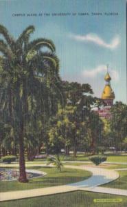 Florida Tampa Campus Scene At The University Of Tampa