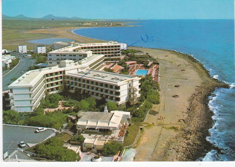 Post Card Spain Canary Islands Lanzerote Hotel San Antonio
