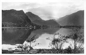 Keswick, Derwentwater, Summer Calm at Lodore, Sincere Greetings