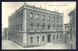 Hotel Castilla exterior view Toledo Spain unused c1920's