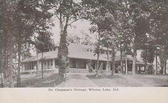 Indiana Winona Lake Dr Chapmans Cottage