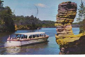 Sightseeing Boat Chimney Rock Upper Dells Wisconsin Dells Wisconsin 1976