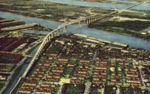 The Eugene Talmadge Bridge Savannah GA 1958