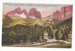 Italy Road in the Dolomites von Hotel Pordoijoch Postcard