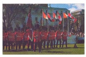 The Canadian Guards take part in the ceremony, Canada, 40-60s