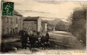 CPA COUPE GORDON BENNET - La Sortie de Bromont-Lamothe (72826)