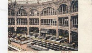DAYTON , Ohio , Flood , 1900-10s ; Interior view of the Market