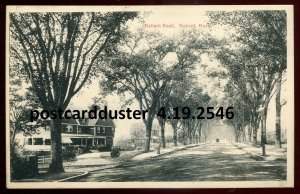 2546 - NAHANT Massachusetts 1910s Road View by Kagan