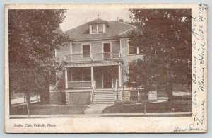 DeKalb Illinois~Shaffer Club House~Northern Illinois University?~1908 B&W PC