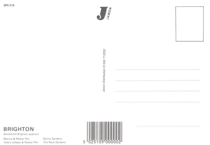 Brighton Postcard, Multi View by Janon Distribution O30