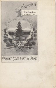 VERMONT State coat of Arms , 1901-07