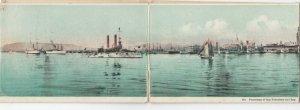 SAN FRANCISCO , Ca. , 1900-10s ; 4 Panel Panorama