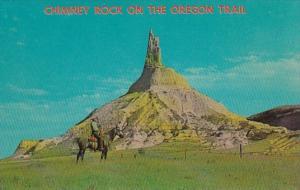 Nebraska Chimney Rock On The Oregon Trail Near Bayard