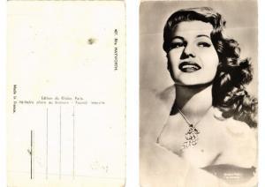 CPA AK Rita Hayworth FILM STAR (555369)
