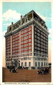Maryland Baltimore Belvedere Hotel 1931