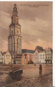 Netherlands Postcard - Groote Mark - Met Martinitoren - Groningen - Ref ZZ5493
