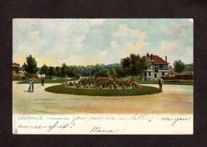 KY Cherokee Park Louisville Kentucky Raphael Tuck & Sons UDB Postcard