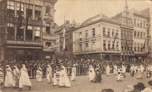 Belgium Antwerp Anvers Jewelery Procession Arab Merchants 06.79