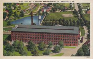 Georgia Gainesville Mill No 6 Pacolet Manufacturing Company