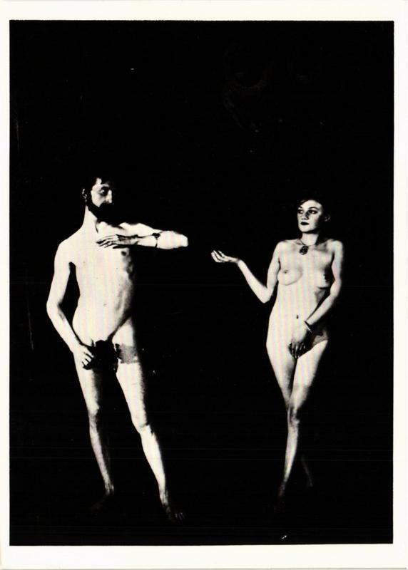 CPM MR31 Cine-Sketch: Adam and Eve 1924 MAN RAY (d1088)