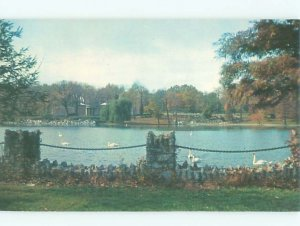 Pre-1980 LAKE SCENE Hagerstown Maryland MD AE3563