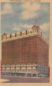 KANSAS CITY, Missouri, 1930-1940s ; Hotel President