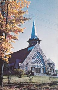 STE. ADELE, Quebec, Canada, PU-1986; Ste. Adele's Catholic Church