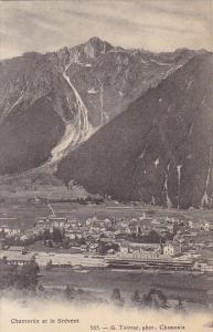 France Chamonix et le Brevent