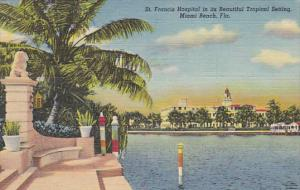 St Francis Hospital Miami Beach Florida 1953