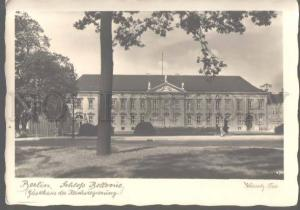 106163 GERMANY Berlin Schloss Bellevue Vintage photo PC