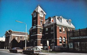 SEAFORTH, Ontario, Canada, 1940-1960's; Post Office On Main Street, Classic Cars