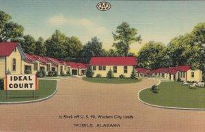 MOBILE, Alabama, 1930-1940's; Ideal Court