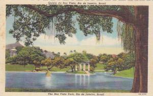 The Boa Vista Park, Rio De Janeiro, Brazil, 1930-1940s