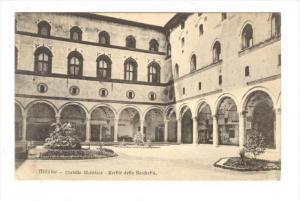 Milano - Castello Sforzesco - Cortile della Rocchetta, ITALY, 00-10s