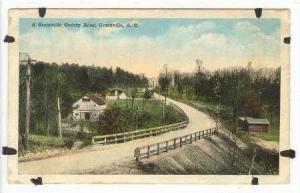 (Dirt) Greenville County Road, Greenville, South Carolina, 1910-20s