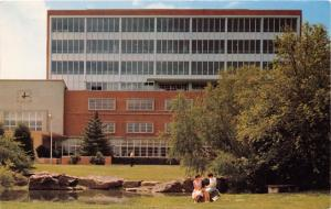 CARBONDALE ILLINOIS MORRIS LIBRARY~SOUTHERN ILLINOIS UNIVERSITY POSTCARD 1972