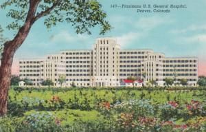 Colorado Denver Fitzsimmons U S General Hospital